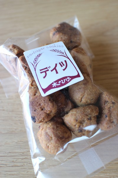 木のひげ Kinohige's no sugar cookies with dates