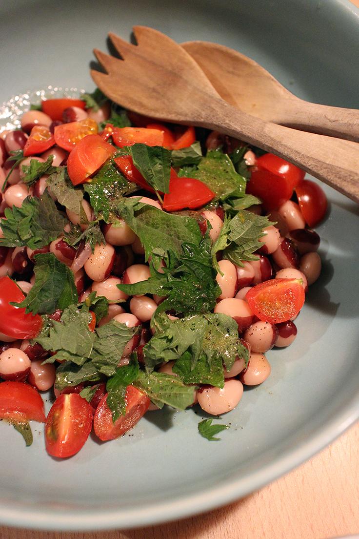 panda bean salad