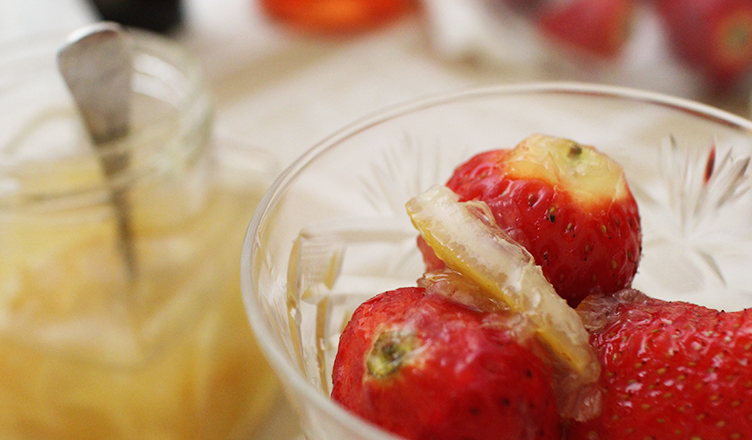 fragole con marmellata di limone LifeStying by edochiana