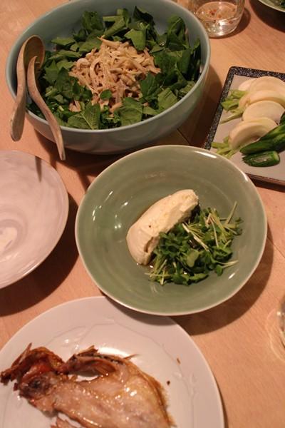 dinner on Thu. 30 Apr. 2015
