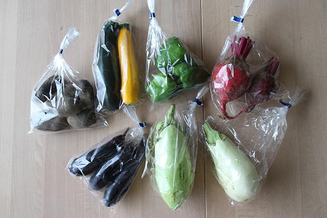 Nora's veggies のらの夏野菜
