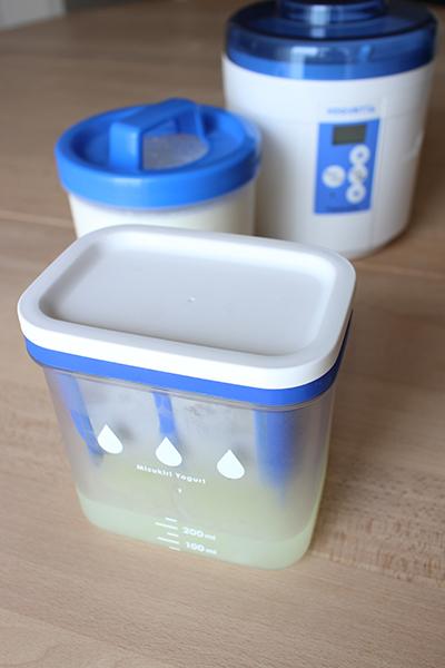 水切りヨーグルトができる容器 LifeStying by edochiana