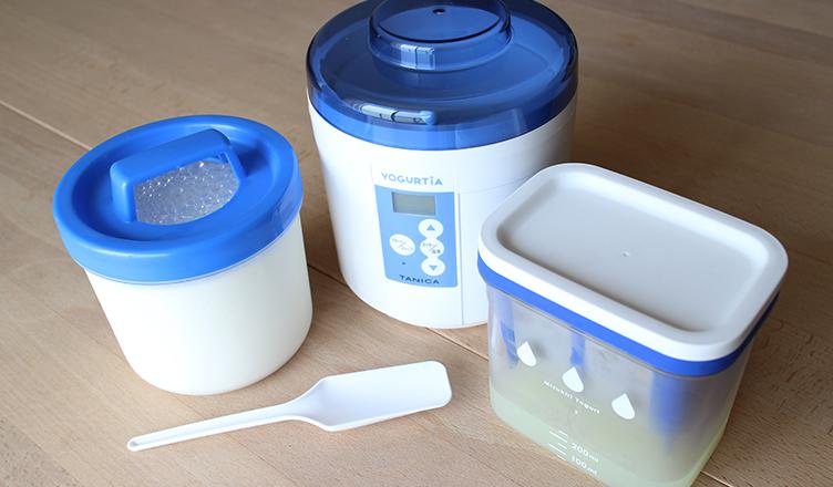 ヨーグルティア, 水切りヨーグルトができる容器 LifeStying by edochiana