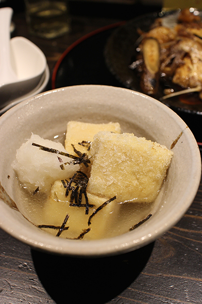 みすず豆腐の揚げ出し LifeStying by edochiana