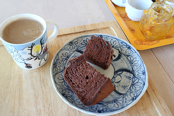 home baked cacao bread LifeStying by edochiana