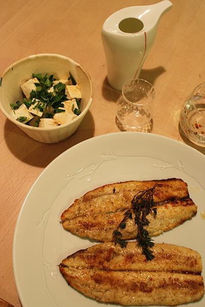 さんまのグリルと豆腐とアボカドのサラダ  LifeStying by edochiana